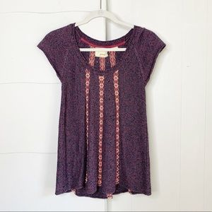 Anthropologie Guinevere sweater tunic top